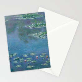Water Lilies by Claude Monet, 1906 Stationery Cards