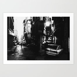Narrow Streets of Istanbul Art Print