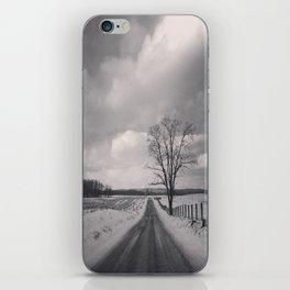 Snow Scene iPhone Skin