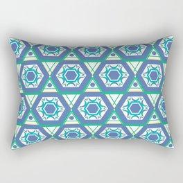 Geometric Shapes 4 Rectangular Pillow