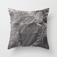 china Throw Pillows featuring China by Jordan Clark