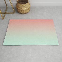 LAST FLIGHT - Minimal Plain Soft Mood Color Blend Prints Rug