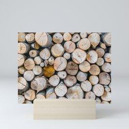 Logged Mini Art Print