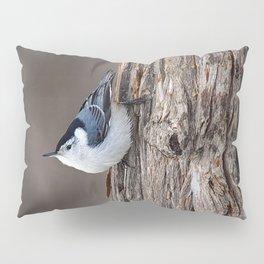 Upside Down Nuthatch Pillow Sham