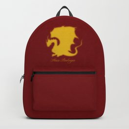 Distressed Pendragon Crest Backpack