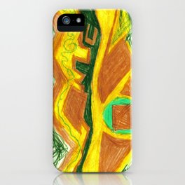 drawing iPhone Case
