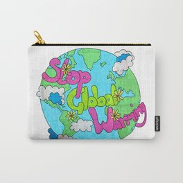 Stop Global Warming Carry-All Pouch