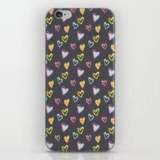 Rosewall love iPhone Skin