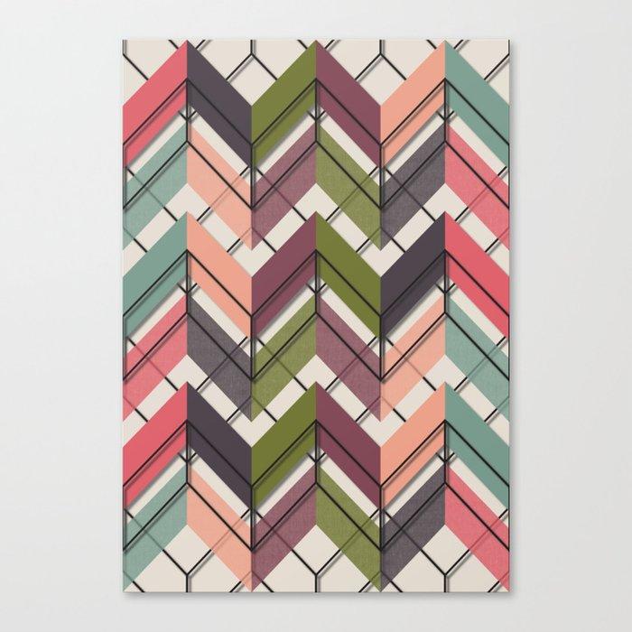 Fill & Stroke V Canvas Print