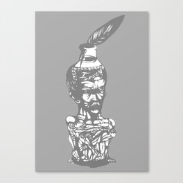 the writher Canvas Print