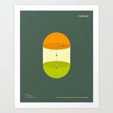 CAPSULE Art Print
