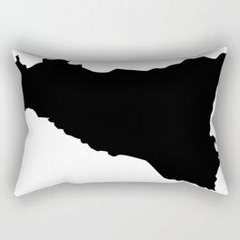 sicilian map Rectangular Pillow