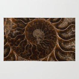 Brown Ammonite Rug