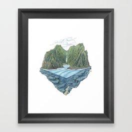 Mana Bay Framed Art Print