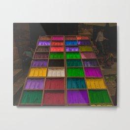 The Colors of Kathmandu City 01 Metal Print