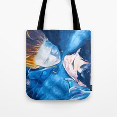 Caught by the light Tote Bag