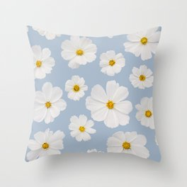 Cosmos Clouds Throw Pillow