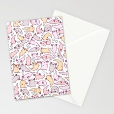 Adorable Axolotls Stationery Cards