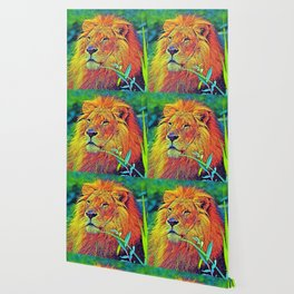AnimalColor_Lion_005_by_JAMColors Wallpaper