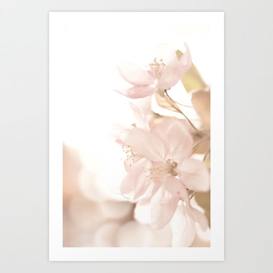 Softness embraced Art Print
