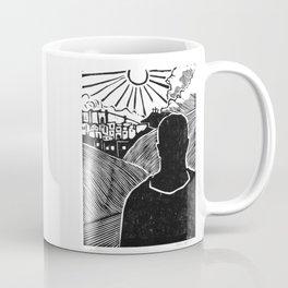 Face Up Coffee Mug