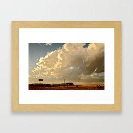 Dealership  Framed Art Print