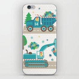 Truck monsters iPhone Skin