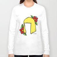 sia Long Sleeve T-shirts featuring SIA BOB 2 by Melina Espinoza
