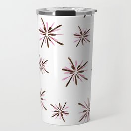 pink fireworks Travel Mug