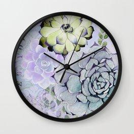 Pekinese Garden Wall Clock