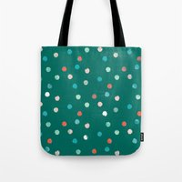 dots Tote Bags featuring dots by Grace