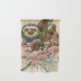 Silly Sloth Wall Hanging