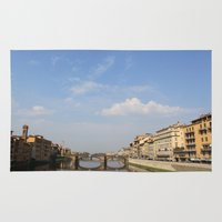 italy Area & Throw Rugs featuring Italy by karleegerrand