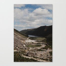 Hiking the Wicklow Mountains Canvas Print