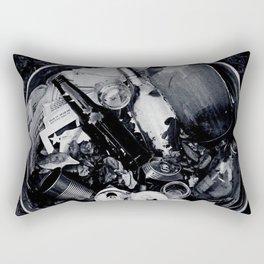 Garbage. Rectangular Pillow