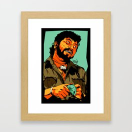 GABBAR Framed Art Print