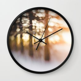 Golden Dawn Wall Clock