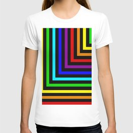 Rainbow Corners T-shirt