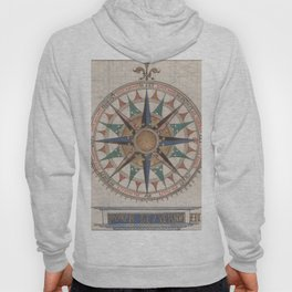 Historical Nautical Compass (1543) Hoody