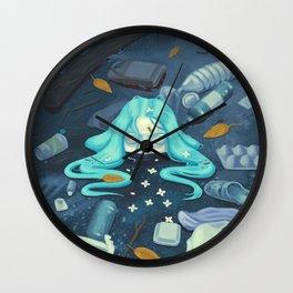 Ebb Tide Wall Clock