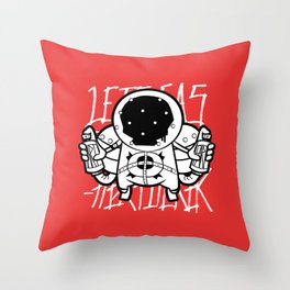 Fart~Ghost Throw Pillow