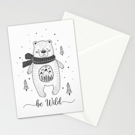 BE WILD! Stationery Cards