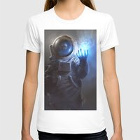 wizard T-shirts featuring Astronaut Wizard by Jordan Grimmer