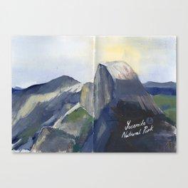 Half Dome Yosemite National Park Canvas Print