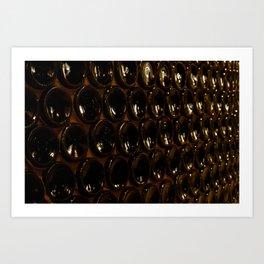 99 bottles Art Print
