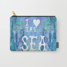 I Love the Sea 2 Carry-All Pouch