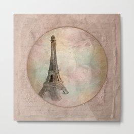 Memories of Paris Metal Print