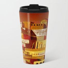The fortress at sunset Travel Mug