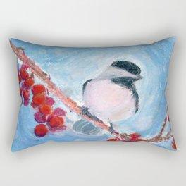 Little Chickadee Rectangular Pillow