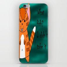 What fish ? iPhone & iPod Skin